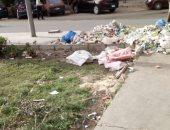 قارئ يشكو انتشار القمامة فى الحى السابع بمدينة نصر
