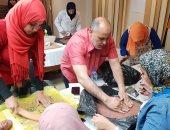 شاهد.. تشكيل الخزف فى المركز الثقافى بطنطا ضمن فعاليات رمضان الفنية