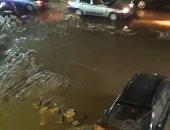 قارئ يشكو من إغراق مياه الصرف لشارع التعاون بشكل دائم