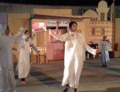 """صور.. ليالى """"أهلا رمضان"""" تحتفل بنصر  العاشر من رمضان بالحديقة الثقافية"""