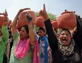 صور.. شاهد ماذا فعل الجفاف فى الهند ؟