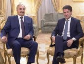 رئيس الوزراء الإيطالى يؤكد سعيه لوقف إطلاق النار فى ليبيا