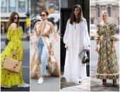 10 تصميمات تساعد فى ارتداء الفساتين فى رمضان