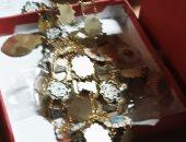 ننشر صورة لمقتنيات أثرية عثر عليها بمخازن الفسطاط