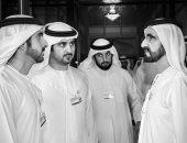 أحلام وديانا حداد يقدمان التهنئة لحاكم دبى لعقد قران أبنائه