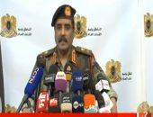 سلاح الجو الليبى يشن غارة جوبة على معسكر النقلية جنوب طرابلس