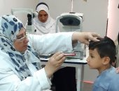 صور.. توقيع الكشف الطبى على 1118 حالة فى قافلة طبية بمنشأة القناطر