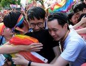 """مسيرة """"فخر المثليين"""" تجوب العاصمة التايوانية رغم أزمة كورونا"""