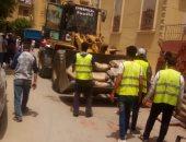 إيقاف أعمال روف مخالف والتحفظ على معدات ومواد البناء بـ6 أكتوبر
