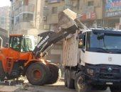 صور.. محافظ الجيزة: رفع 210 طن مخلفات وقمامة فى حملة استمرت 5 ساعات