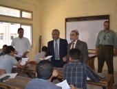 صور.. نواب رئيس جامعة الأزهر للوجهين القبلى والبحرى يتفقدون أعمال الامتحانات