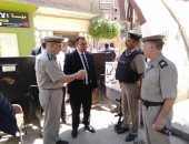 صور.. مدير أمن المنوفية يتفقد الخدمات الأمنية بمركز بركة السبع