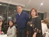 صور.. سفير مصر بأستراليا يقيم مأدبة إفطار لأبناء الجالية بمنزله