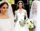 """على طريقة كيت ميدلتون وميجان ماركل.. """"ليدى جابرييلا"""" تختار فستان زفافها"""