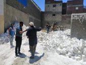حملة للتصدى لأعمال البناء المخالف بالعامرية غرب الإسكندرية
