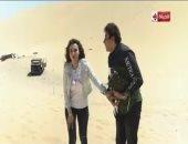 فيديو.. شاهد الحلقة الكاملة لمقلب هانى فى الألغام مع الفنانة دينا فؤاد