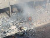 قارئ يحذر من انتشار الأمراض الصدرية بسبب حرق أكوام القمامة بصقر قريش