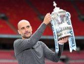 جوارديولا ثالث المدربين الإسبان تتويجا بكأس الاتحاد الإنجليزي