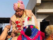 """""""خاف أحسن ميتجوزش"""".. شاب هندى يقيم حفل زفاف لنفسه بدون عروس.. فيديو"""