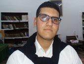 شريف.. طالب بكلية الشريعة حفظ القرآن فى السادسة من عمره واتقن الإنشاد