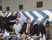 قبطى ينظم مائدة افطار لـ 1400 صائم بمدينة سرس الليان فى المنوفية