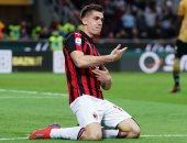 التاريخ ينتظر مهاجم ميلان ضد سبال فى الدوري الإيطالي