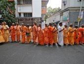 صور.. انطلاق المرحلة الأخيرة من الانتخابات فى الهند
