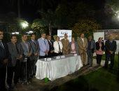تكرم الحاصلين على جوائز الدولة التقديرية والتشجيعية من العاملين بجامعة طنطا