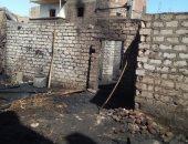 السيطرة على حريق بـ4 منازل و5 أحواش فى جهينة بسوهاج