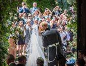 العائلة الملكية البريطانية تحتفل بالعيد الأول لزفاف هارى وميجان ماركل