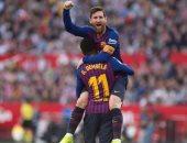 ميسي يقود هجوم برشلونة ضد فالنسيا في نهائي كأس ملك إسبانيا