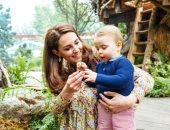 دوق ودوقة كامبريدج وأطفالهم الـ3 يزورون معرض تشيلسى للزهور