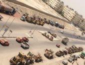 مواطن يطالب بالحد من ازدحام سيارات النقل الثقيل فى مدخل مدينة الغردقة