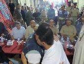 إنهاء خصومة ثأرية بين عائلتين بالفيوم بسبب المصاهرة
