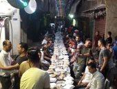 """""""شوارع الجدعان"""".. إفطار جماعى فى إمبابة يضم 250 صائما"""