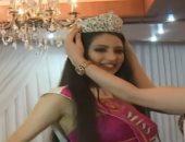 شاهد.. تتويج ملكة جمال الورد فى أريانة التونسية