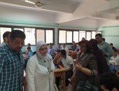 """صور.. طلاب الصف الأول الثانوى بكفر الشيخ عقب الإمتحان: """"السيستم"""" تحسّن"""