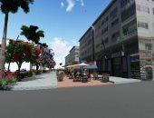 صور ..  ماكيت تطوير شارع الشيرتون بمدينة الغردقة السياحية