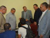 رئيس جامعة الأزهر يتفقد لجان امتحانات الشفهى فى كليات قطاع الدراسة
