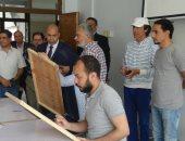 """رئيس جامعة المنيا يوافق على إتاحة وقت إضافى لإنهاء مشروعات تخرج """"طلاب الفنون"""""""