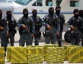 صور.. شرطة جواتيمالا تنجح فى ضبط شحنة ضخمة من الكوكايين