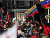 احتفالات بالذكرى السنوية الأولى لإعادة انتخاب مادورو رئيسا لفنزويلا