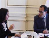 رئيس الوزراء يلتقى رئيس المجلس القومى للمرأة لمتابعة تكليفات الرئيس