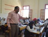 صور.. 5589 طالبا بالصف الأول الثانوى فى الأقصر يؤدون الامتحان إلكترونيا