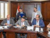 محافظ الإسكندرية يوقع بروتوكول مع تحيا مصر لتنفيذ «شارع 306» .. صور