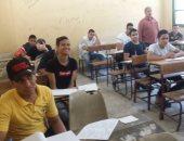 طلاب الدبلومات الفنية يواصلون امتحانات الدور الثانى