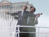 سيلين ديون وجيمس كوردن يعيدان تصوير مشهد سفينة تيتانيك