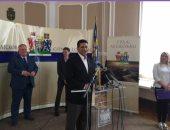 """سفير مصر فى بلجراد يبحث التعاون الثقافي والاقتصادى مع عمدة مدينة """"ليسكوفاتس"""""""