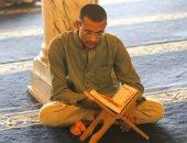 أجواء رمضانية فى الجامع الأزهر.. تسبيح وقراءة قرآن