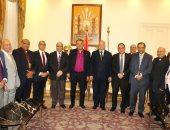 محافظ القاهرة يستقبل وفد الطائفة الإنجيلية للتهنئة بحلول عيد الفطر المبارك